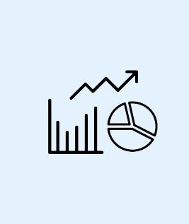 Ikoner för statistik