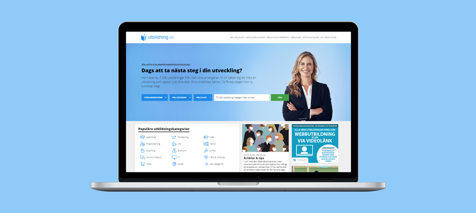 Vi har lanserat ett nytt sökfilter på utbildning.se